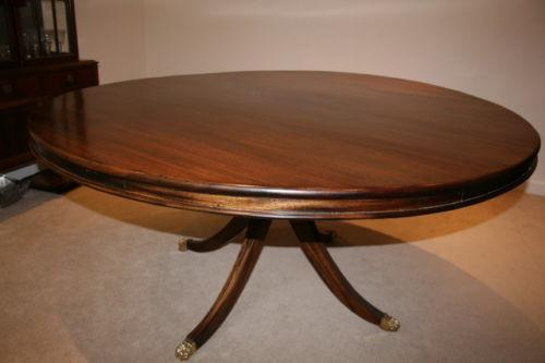 mahogany dining table used ebay. Black Bedroom Furniture Sets. Home Design Ideas
