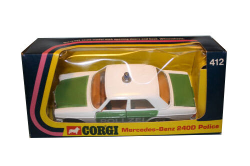 Corgi Die-Cast Cars