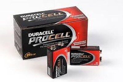 NEW DURACELL PROCELL 9V 9 VOLT ALKALINE BATTERIES BOX OF 12 on Rummage