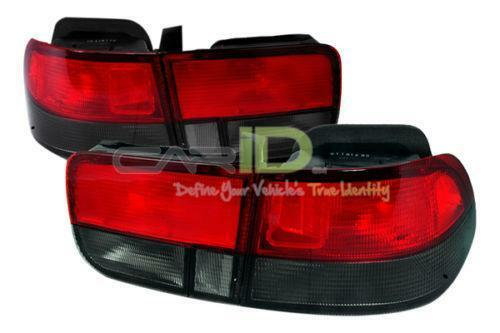 honda civic smoked tail lights ebay. Black Bedroom Furniture Sets. Home Design Ideas