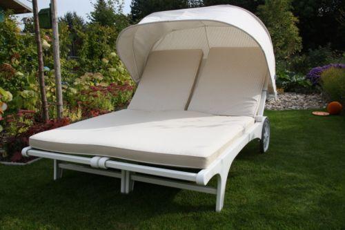sonnenliege kunststoff liegen ebay. Black Bedroom Furniture Sets. Home Design Ideas