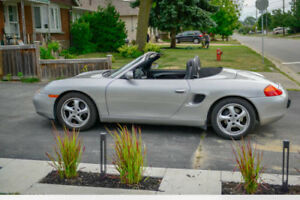 1998 Porsche Boxster, very low mileage
