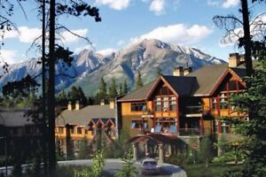 Canmore Timeshare 2 Weeks per Year.