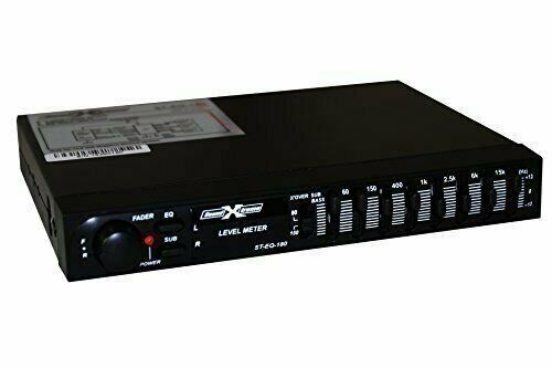 SOUNDXTREME 7 Band Pre Amp Graphic Car Audio Stereo Equalizer EQ w/  sub out
