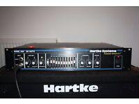 Hartke HA3500 bass amp head. With rack ears.
