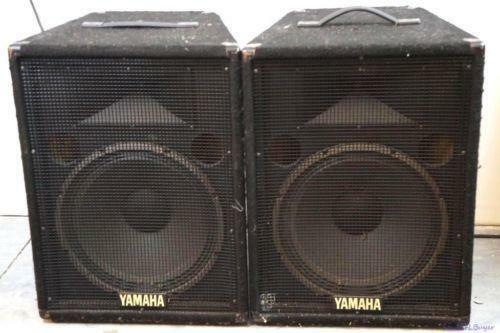 used dj speakers ebay