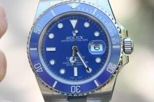 Rolex Submariner Black And Blue