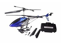 brand new Flying Gadgets T77 Large 3 Channel rc Helicopter with LED Lights summer