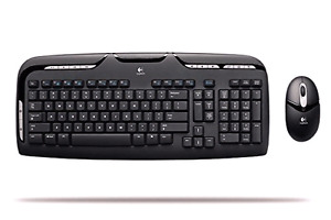 Clavier et souris sans fil Logitech EX110 keyboard and mouse