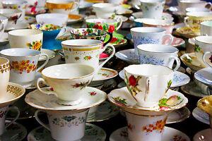 English Bone China Teacups and Tea sets