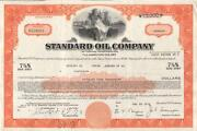Oil Stock Certificate