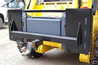 Quick Attach Plate With Receiver Hitch