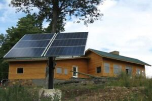 OFF-GRID SOLAR PANELS BATTERIES CHARGE CONTROLLER CAMP, COTTAGE