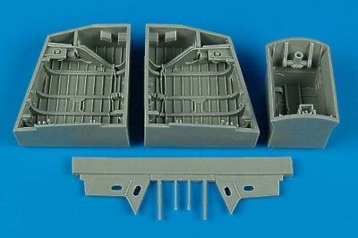 Aires 1/48 EE Canberra wheel bays for Airfix kit 4453