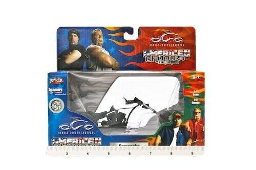 1:18 AMERICAN CHOPPER CUSTOM OCC ORANGE COUNTY CHOPPER COMANCHE DIE CAST REPLICA