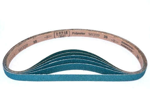 1 X 30 Inch Sanding Belts Zirconia Cloth Sander Belts (36 Pack, 120 Grit)