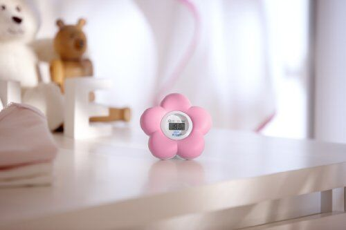 Philips AVENT SCH550/21 Bath And Room Thermometer Pink NEW