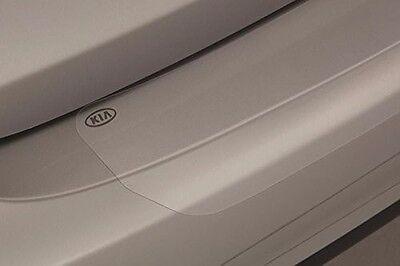 New Oem 2013 2016 Kia Forte Koup Clear Stick On Rear Bumper Protector Applique
