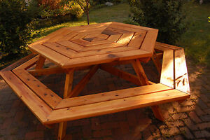 Octagon picnic table n more