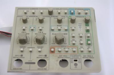 Tektronix 2440 Digital Oscilloscope Front Control Panel 300 Mhz