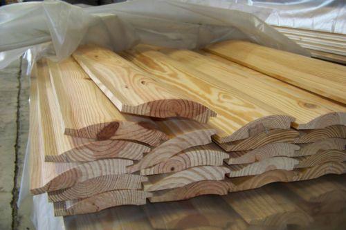 Log Siding Lumber Amp Millwork Ebay