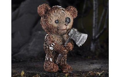 Miniature Teddy Bear with Ax Pick Fairy ...
