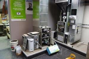CALGARY HEATING & AIR CONDITIONING SUPPLIER AUCTION APR