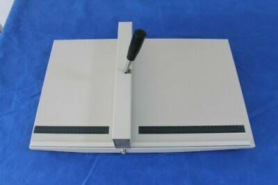 Manual 14 Inch Paper Scoring Creasing Machine Scorer Creaser With Magnetic Block