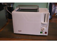 Luxurious toaster - new with instructions - Bifinett BET 900 1B 900W