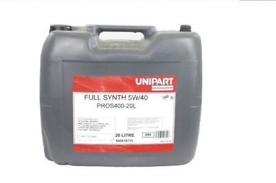 20 LITRES  5W40 Engine Oil Fully Synthetic 20L (ProS400) MADE BY FUCHS UK