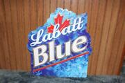 Labatt Blue Beer Sign