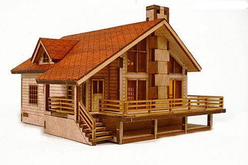 Model house kit ebay for Kits for building a house