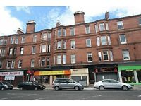 SPACIOUS 1 BEDROOM, TOP FLOOR FLAT AVAILABLE MID JULY - VICTORIA ROAD, GLASGOW.