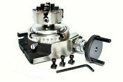 Rotary Table 4100mm With 70mm Independent Chuck Backplate