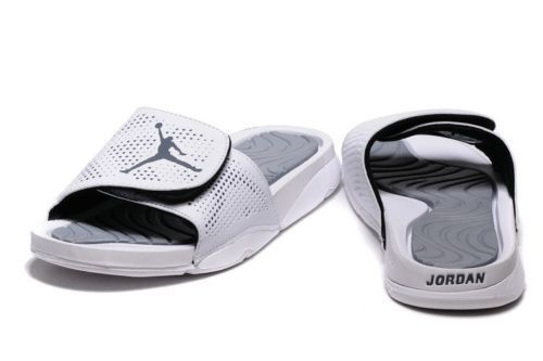Nike Air Jordan Hydro 5 Slides NEW Men Sz 8 Sandals Flip Flops 820257 120  White