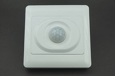 New Wall Mounted Automatic Ir Infrared Pir Movement Motion Sensor Onoff Switch