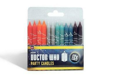 BBC Worldwide Doctor Who Candles (Pack of 12)