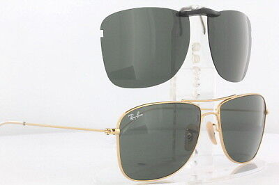 Custom Fit Polarized CLIP-ON Sunglasses For RAY-BAN 3477 59x15 RB3477 (Custom Raybans)