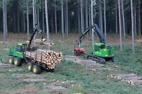 Woods work wanted.  Operator/driver
