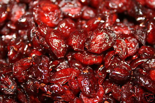 Premium Dried Whole Cranberries, Grown to Organic Standards, No Additives