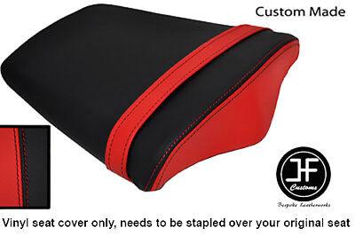 BLACK AND RED VINYL CUSTOM FITS TRIUMPH DAYTONA 675 06 12 REAR SEAT CO