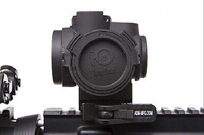 Tango Down Io Cover For Trijicon Mro Io 002   Solid Caps   Black