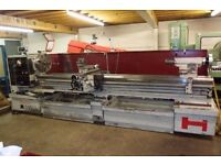 HARRISON M550 GAP BED CENTRE LATHE 120 INCH CENTRES DRO YEAR 1996