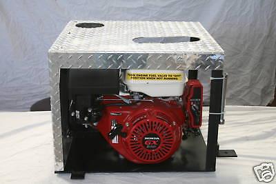 Compact Portable Hydraulic Trailer Power Unit Pony Motor Lowboy Hydraulic Unit