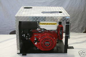 COMPACT PORTABLE HYDRAULIC TRAILER POWER UNIT PONY MOTOR LOWBOY HYDRAULIC UNIT