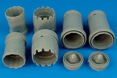 Aires 1/32 F-15K Slam Eagle exhaust nozzles for Tamiya kit 2101