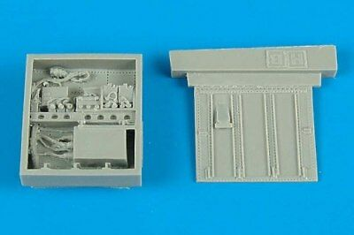 Aires 1/48 A-10A electronic bay for Hobby Boss kit 4358