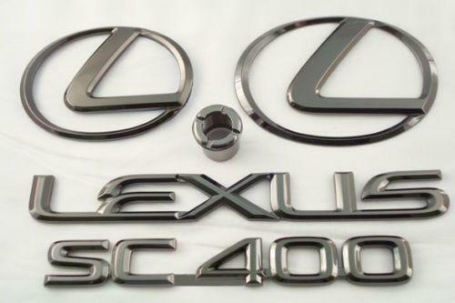 Lexus Sc400 Emblem Ebay