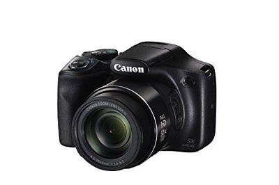 Canon Powershot SX540 HS Digitalkamera 20.3 Megapixel CMOS WiFi Full HD schwarz