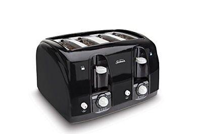 Sunbeam Afield Slot 4-Slice Toaster Black